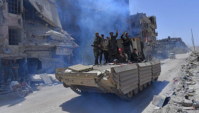 Дамаск впервые с 2011 года полностью освобожден от ИГ