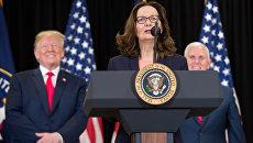 Джина Хаспел вступила в должность директора ЦРУ. 21 мая 2018
