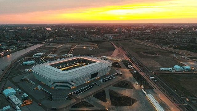 Стадион Калининград, где пройдут матчи чемпионата мира по футболу 2018