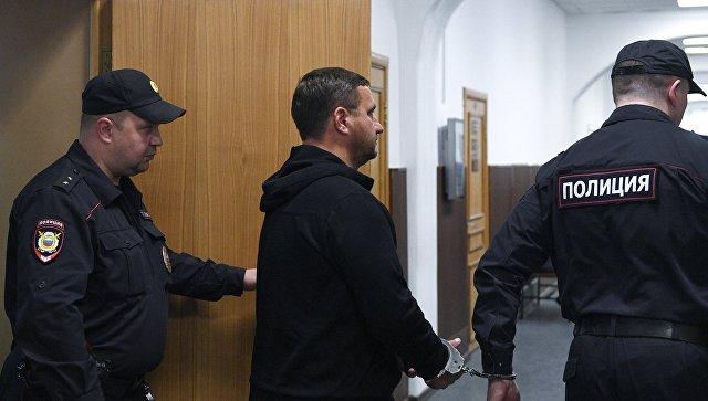 Бывший мэр Ялты Андрей Ростенко в Басманном районном суде Москвы. 23 мая 2018