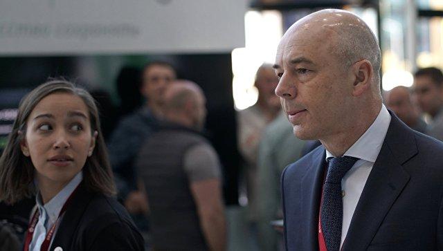 Министр финансов РФ Антон Силуанов на Петербургском международном экономическом форуме. 25 мая 2018