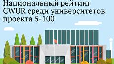 Национальный рейтинг CWUR среди вузов проекта 5-100