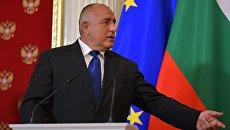 Премьер-министр Болгарии Бойко Борисов. Архивное фото