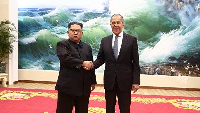 Сергей Лавров встретился с Ким Чен Ыном