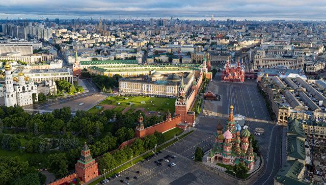 Москва. Архивное фото