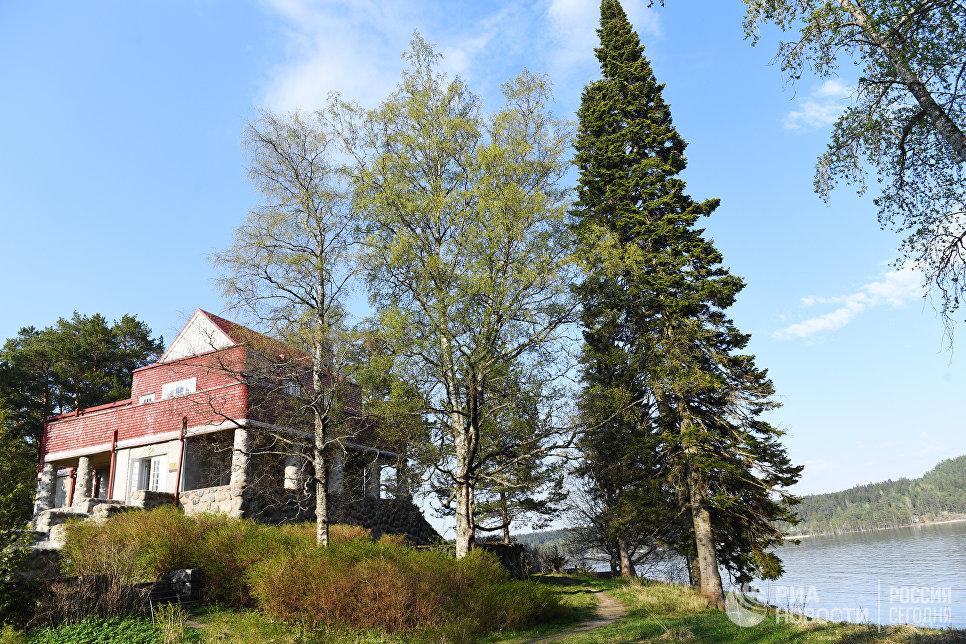 Музей «Дача Винтера», Карелия.