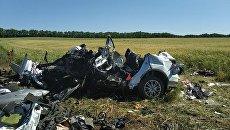 ДТП при столкновении трех легковых автомобилей в Аксайском районе Ростовской области. 2 июня 2018