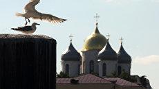 Купола православного храма. Архивное фото