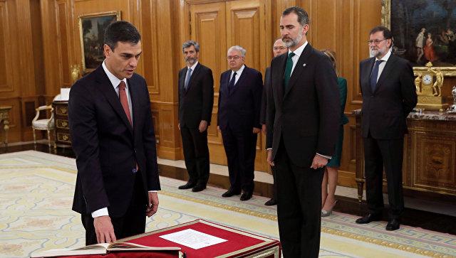Педро Санчес вступил вдолжность премьера Испании