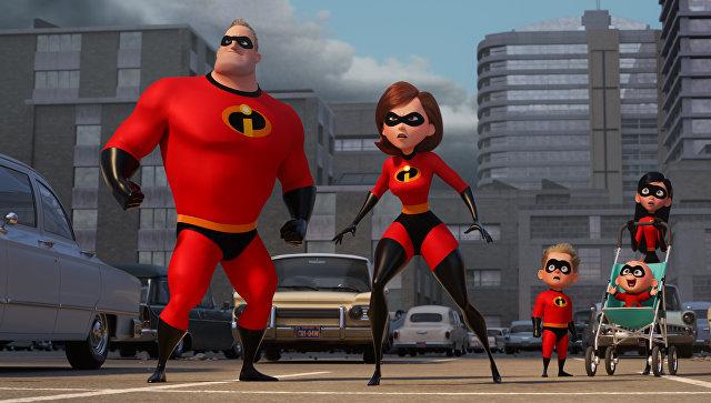 Кадр из мультфильма Суперсемейка 2