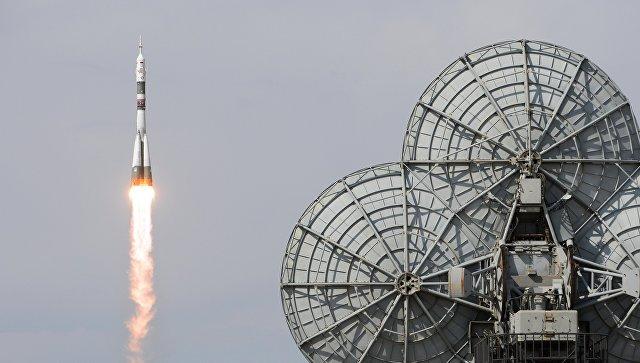 Запуск ракеты Союз. Архивное фото