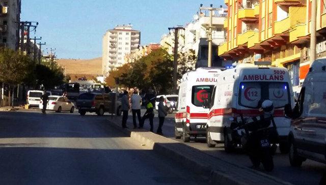 Автомобили скорой помощи в городе Газиантеп, Турция. Архивное фото
