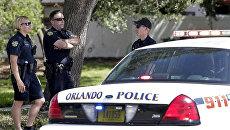 Сотрудники полиции США в Орландо. Архивное фото