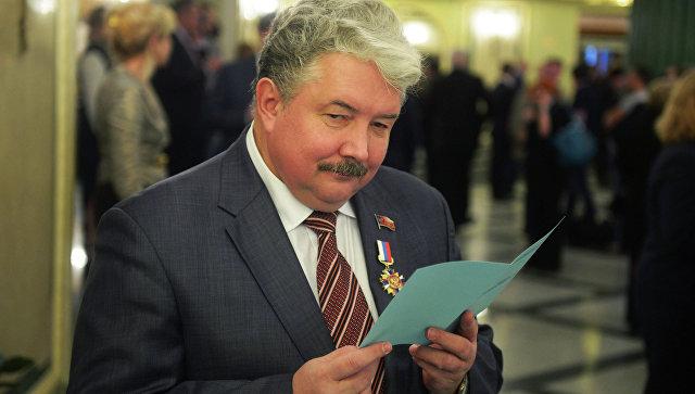 Глава Российского общенародного союза Сергей Бабурин. Архивное фото