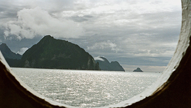 Вид на Аляску. Архивное