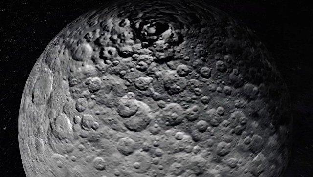 Церера, изображение сделано космическим аппаратом Dawn