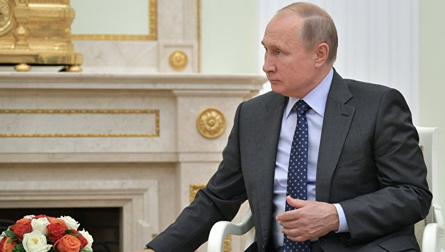 14 июня 2018. Президент РФ Владимир Путин. Архивное фото