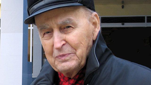 Старейший российский археолог, профессор Василий Любин. Архивное фото