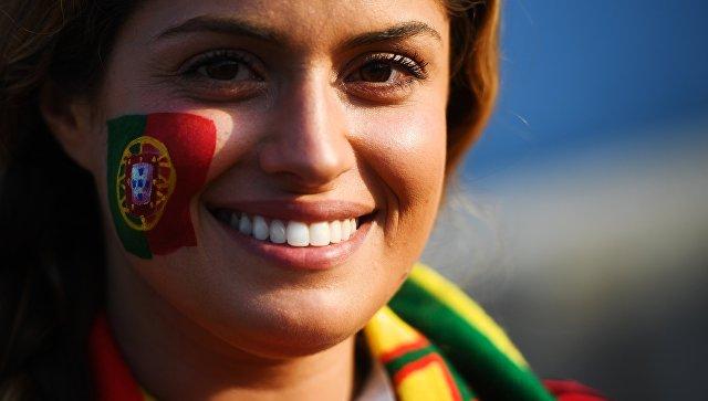 Болельщица сборной Португалии. Архивное фото