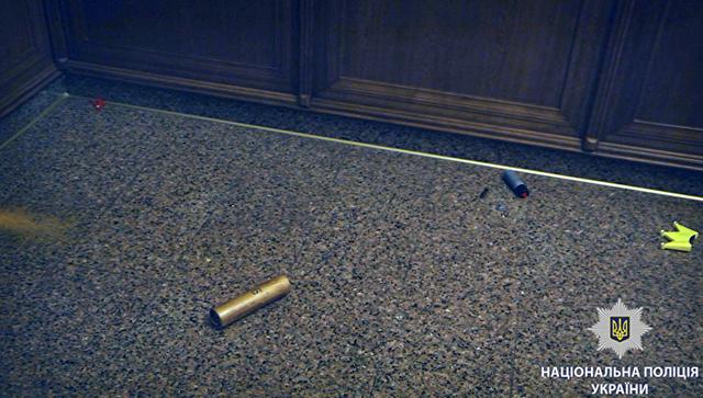 Дымовая шашка в здании харьковского горсовета. 20 июня 2018