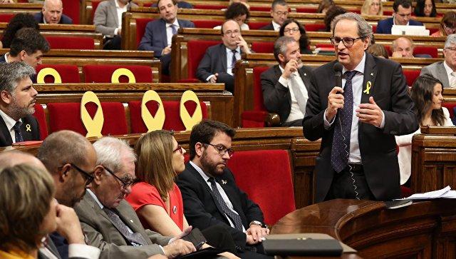 Глава женералитета Каталонии Ким Торра. Архивное фото