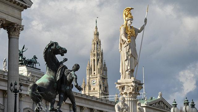 Здание парламента Австрии в Вене. Архивное фото