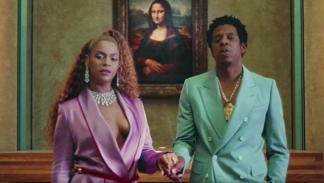 Кадр из клипа The Carters