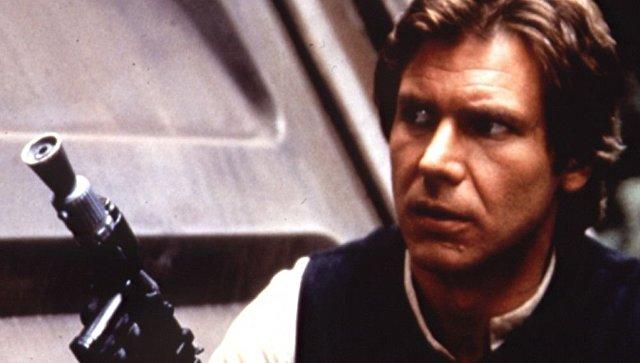 Харрисон Форд (Хан Соло) в фильме Звёздные войны: Эпизод 6 – Возвращение Джедая. Архивное фото