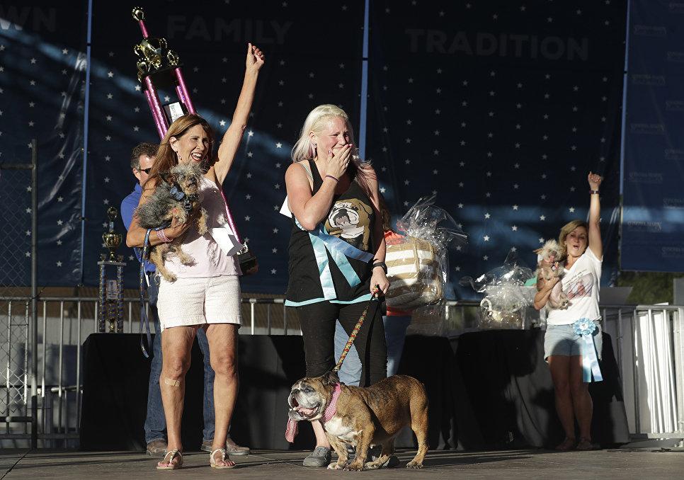Конкурс Самая уродливая собака в мире(World's Ugliest Dog)