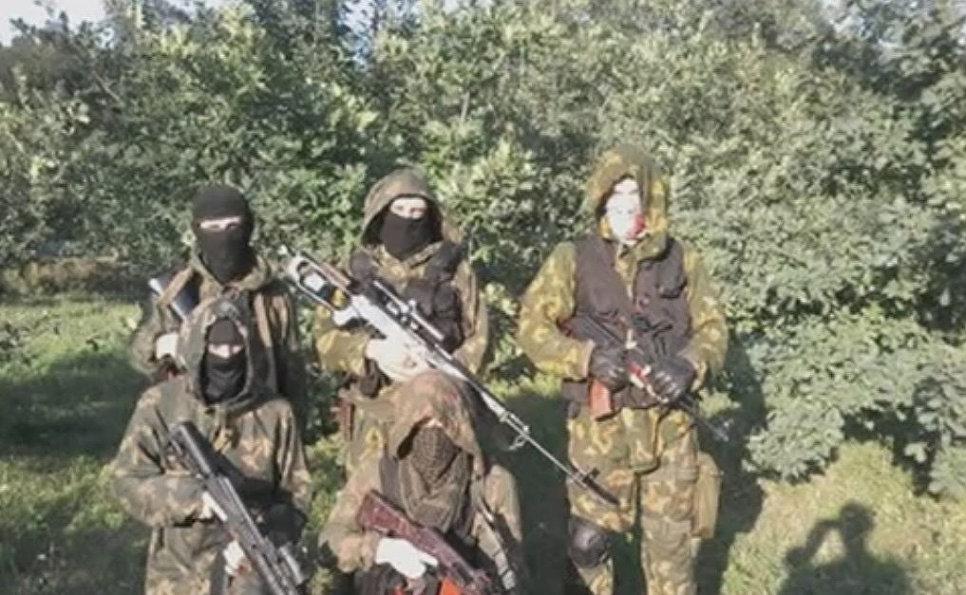 Разведгруппа батальона «Азов», Донецкая область.