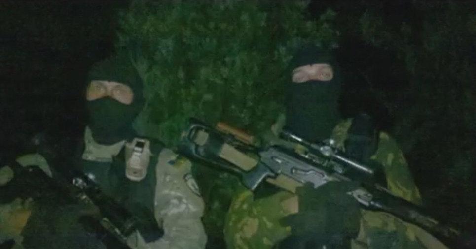 Подготовка к штурму Марьинки, 2014 год. Снайпера батальона «Азов».
