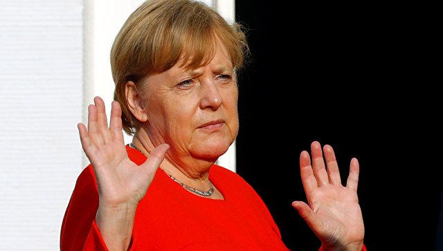 Канцлер Германии Ангела Меркель. 19 июня 2018