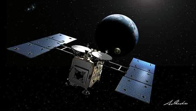 Зонд Хаябуса-2 . Архивное фото
