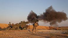 Военнослужащие армии США в Сирии. Архивное фото
