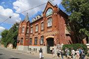 Историческое здание академии акварели и изящных искусств Сергея Андрияки