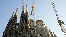 Храм Саграда Фамилия в Барселоне. Архивное фото