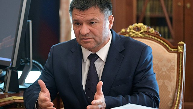 ВРИО губернатора Приморского края Андрей Тарасенко. Архивное фото