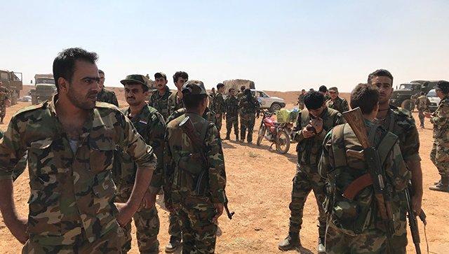 Сирийские войска. Архивное фото