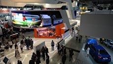 Международная промышленная выставка Иннопром - 2018. Архивное фото