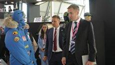 Стенд легпрома на выставке ИННОПРОМ-2018