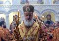 Патриарх Московский и Всея Руси Кирилл совершает великое освящение храма Федоровской иконы Божией Матери