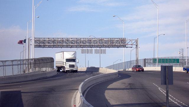 Граница Мексики и США. Архивное фото