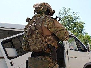 Сотрудник Службы безопасности Украины. Архивное фото
