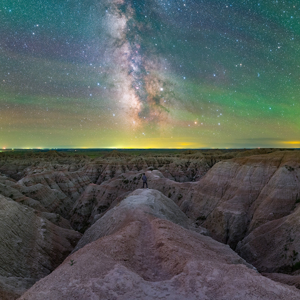 Работа фотографа Jingpeng Liu Expedition to Infinity, вошедшая в шорт-лист Insight Astronomy Photographer of the Year 2018