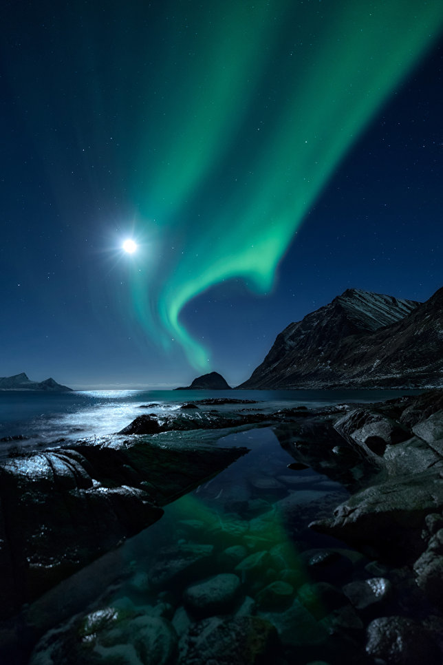 Работа фотографа Mikkel Beiter Aurorascape, вошедшая в шорт-лист Insight Astronomy Photographer of the Year 2018