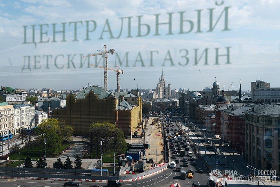 Благоустройство Лубянской площади в рамках программы Моя улица