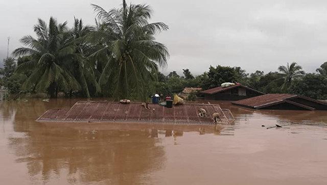 Волонтеры: в Лаосе более 40 человек погибли из-за прорыва плотины ГЭС