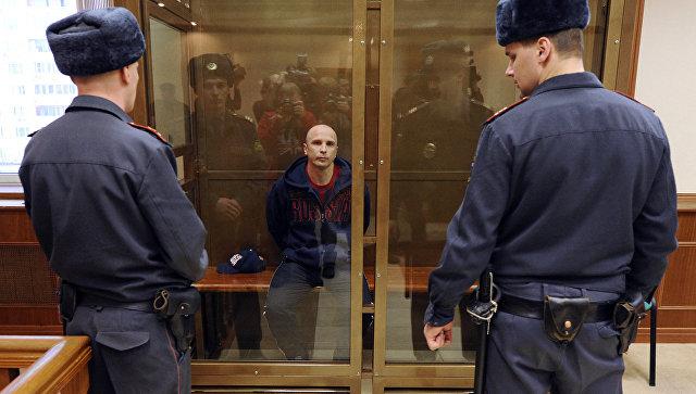 Участник медведковской и ореховской группировок Марат Полянский в суде. Архивное фото