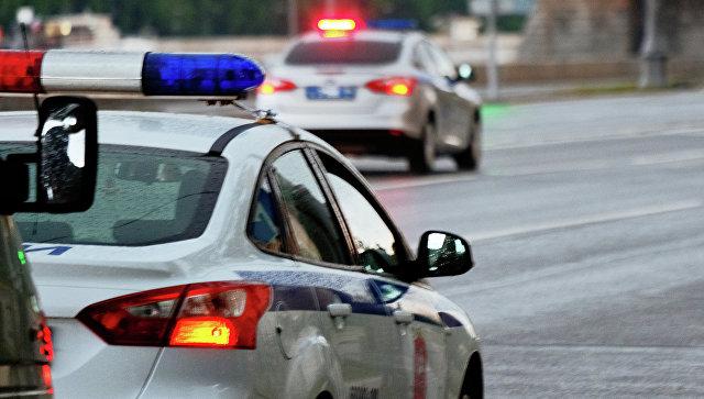 Автомобили полиции. Архивное фото