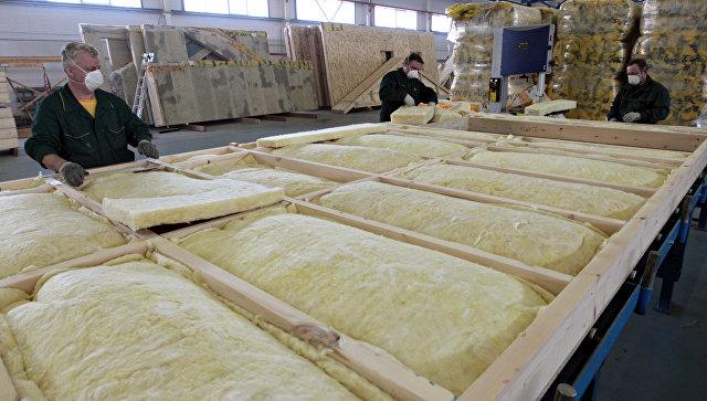 Завод по производству каркасно-панельных домов